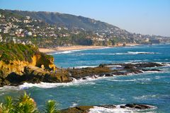 Califorina - Laguna Beach Imagens de Stock