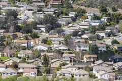 Californië in de voorsteden Stock Afbeelding