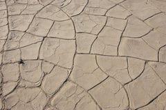 Californië, het Nationale Park van de Doodsvallei, Modderduinen Royalty-vrije Stock Afbeelding