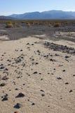 Californië, het Nationale Park van de Doodsvallei, Modderduinen Stock Afbeelding
