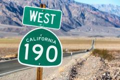 Californië 190 het Westen Stock Foto