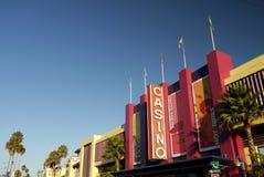 Californië: Santa Cruz-promenadecasino Stock Fotografie