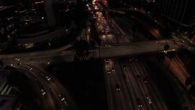 California aérea Los Ángeles almacen de video