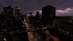 California aérea Los Ángeles metrajes
