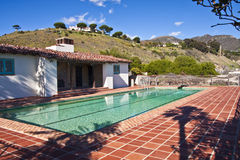 California Adobe Pool Royalty Free Stock Photos