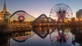 California Adventure Park in December Stock Photos