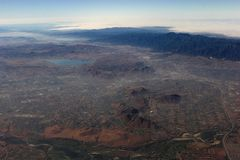 California - aerial view 2 Stock Photography