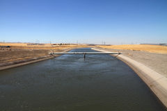 California aqueduct Stock Photography