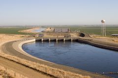 California Aqueduct Royalty Free Stock Photo