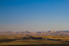The California Aqueduct Royalty Free Stock Photography