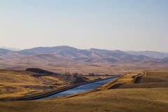 The California Aqueduct 2 Stock Photo