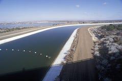 California aqueduct system, CA Stock Images