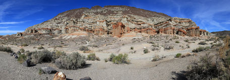 California Badlands panorama Royalty Free Stock Photo