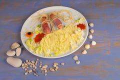 California beach food Stock Photo
