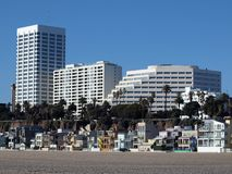 California Beach Front Living Royalty Free Stock Image