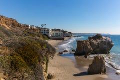 California Beach Homes Royalty Free Stock Photos