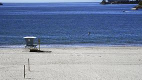California beach stock video footage