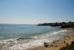 California Beach. California during summer time, with its pretty views Stock Photo