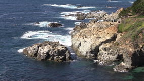 California Big Sur Coast stock video footage