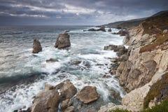california brzegowa wieczór kipiel obrazy stock