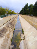 California Canal Drought Royalty Free Stock Image