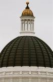California Capital Sacramento Building. Crown Jewel gold stock image
