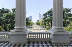 California Capitol Building View Royalty Free Stock Photos
