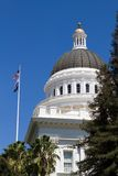 California Capitol Dome Stock Photo