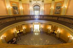 California Capitol Rotunda Lobby Royalty Free Stock Images