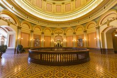 California Capitol Rotunda Second Floor Royalty Free Stock Images
