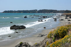 California Cetral Coast Royalty Free Stock Photo