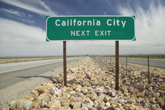 California City sign Stock Photos