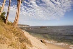 California Coast. A Beautiful Beach View in California royalty free stock photography