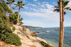 California Coast. Beautiful View of the California Coast stock images