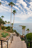 California Coast. Scenic View of the Pacific Ocean in California royalty free stock photos