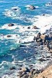 California Coast. Near San Simeon Royalty Free Stock Photo