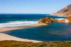 California Coast. On a sunny day Stock Image