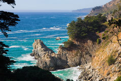 California Coast. On a sunny day Royalty Free Stock Images