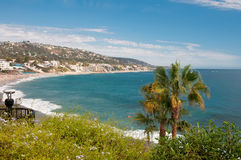 California Coast. Summer Day on the Pacific Coast in California stock images