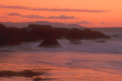 California Coast 25. Sunset at Muir Beach, Golden Gate National Recreation Area, California, USA stock photos