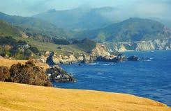 California coast. The California coast by Big Sur Royalty Free Stock Photo