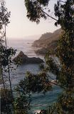 California coast. View of Big Sur Coastline, California royalty free stock images