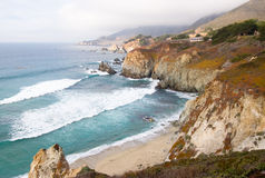 california coast Στοκ Φωτογραφία