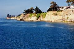 California Coast. Point along the California Coast near Capitola Stock Photography