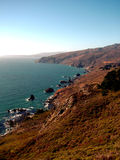 California coast. Sunny day on the coast of Northern California Stock Photo