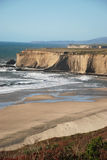 California coast. Coastline of california near big sur Stock Images