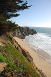 California coast. Coastline of california near big sur Royalty Free Stock Photos