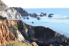 California Coast. Californian coast with ocean and rocks Royalty Free Stock Photography