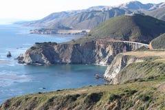 California Coast. Californian coast with ocean and rocks Stock Photography