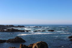California Coast Landscape Royalty Free Stock Photography